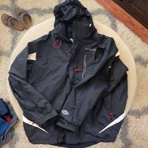 Columbia Field gear triple layer jacket